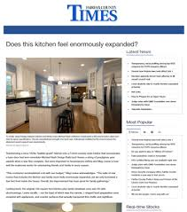 Kitchen Design Website Custom Does This Kitchen Feel Enormously Expanded