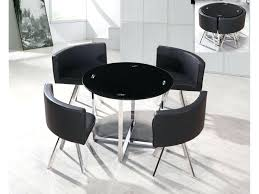 round table and chair set space saver kitchen table ideas home and kitchen ideas space saver round table and chair set