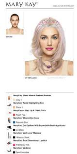 i just got a great new look using the free mary kay virtual makeover try it out for yourself and then share it with all your friends