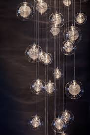 chandelier dazzling bubble glass chandelier also glass panel chandelier with glass bauble chandelier chic bubble glass