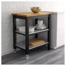 Amazing Rustic Kitchen Stenstorp Cart Ikea For Island And White