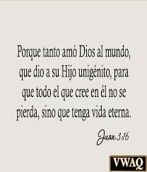 Christian Quotes In Spanish Best Of John 2424 Spanish Wall Decal For God So Loved The World Spanish Wall