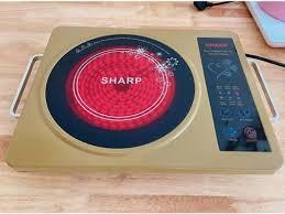 Bếp hồng ngoại sharp SH-20 cao cấp, Công suất 2200w, Tiết kiệm điện năng,  Bếp cảm ứng hồng ngoại dễ sử dụng