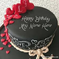 Happy Birthday Cakes With Name Edit Birthdaycakeforboytk