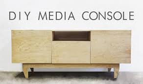 modern plywood furniture. Mid Century Modern Console Plywood Furniture
