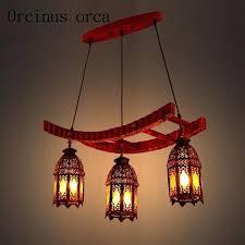 retro solid wood chandeliers restaurants study rooms bars morocco style minimalist chandelier moroccan inspired style lighting chandelier