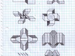 Graph Paper Drawings Online Easy Animals Instructions Free