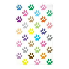 paw print rug colorful puppy paw print pattern area rug paw print shaped rug