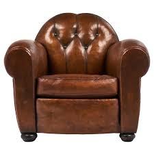 Stuhl Leder Club Sessel Sessel Vintage Esszimmer Stühle