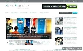 Creative Newspaper Template News Template By Magazine Download Design Creative Newspaper