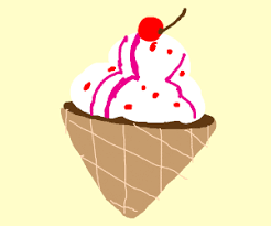 Red Velvet Ice Cream Cake Drawception