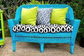easy diys to renovate wicker furniture