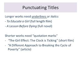 revising your essays common issues and how to solve them ppt 4 punctuating