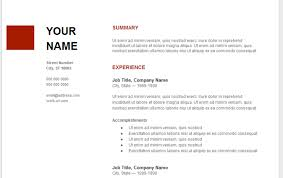 Google Resume Template Resume Sample Google Docs Templates