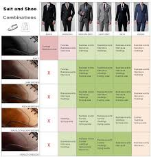 How To Match Shoes With Suit Color Suit And Shoe Color