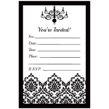 Print Out Birthday Invitations Stunning Printable Birthday Party Invitations In Black And White Yourbody