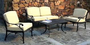 iron patio furniture. Patio Furniture Sets Metal Table Fabulous Black Magazine . Iron