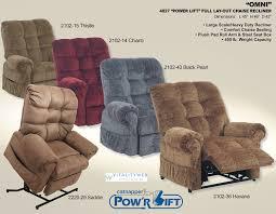 catnapper omni 4827 lift chair recliner colors