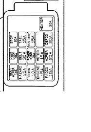 1994 Mazda Mpv Fuse Box Diagram Fuse Box Cover