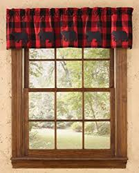 Amazon.com: C&F Home Timberline Quilt Collection Standard Sham, 20 ... & Park Designs Buffalo Check Bear Valance, 60 x 14