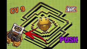 Layout Cv9 Push Atualizado Com Torrre De Bombas Th9 Pushing Base