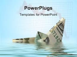 powerpoint template a paper boat made the help of dollar ppt template he words get help here symbolizing the need to offer support and answers