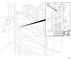 2007 dodge sprinter 3500 owner manual not clear on fuse position