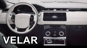 2018 land rover interior. beautiful 2018 2018 range rover velar  interior to land rover interior