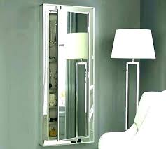 free standing jewelry armoire with mirror furniture fabulous