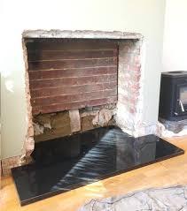 installing fireplace hearth wood burning stove installation hearth installing tile fireplace hearth