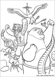 Small Picture Kung Fu Panda 2 coloring pages on Coloring Bookinfo