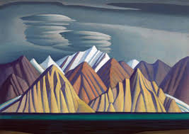 bylot island i an oil on canvas arctic landscape by canadian artist lawren