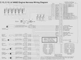 i need a wiring harness diagram for a caterpillar c10 engine graphic
