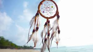 Beach Dream Catchers Dream Catcher Swinging At The Wind On The Beach Slow Motion Stock 10