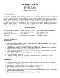 Legal Assistant Resume Amazing Legal Assistant Resume