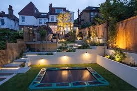 multi level garden contemporary