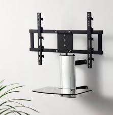 Corner Tv Mounts With Shelves Fascinating 32 [ Corner Tv Mount With Shelf ] Dark Wooden Floating Wood Wall