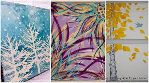 painting canvas ideasCanvas Painting Ideas For Home  Home Decor Ideas