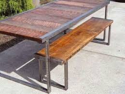 Reclaimed wood furniture millwork Reclaimed wood table