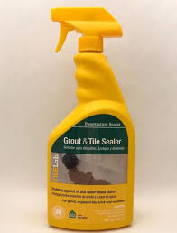 tilelab grout tile penetrating sealer 1 qt 946 ml spray bottle tile lab