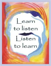Image result for listen and learn