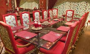 dining table and chairs for sale in karachi. dining table set in red theme is a new concept that presented by one of the best designer \ and chairs for sale karachi n