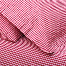 Pin by Mary Mc Namara on Dream houses | Pinterest | Red gingham ... & Pin by Mary Mc Namara on Dream houses | Pinterest | Red gingham, Cot bed  duvet and Gingham Adamdwight.com