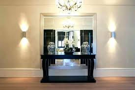 unique entry tables. Foyer Table And Mirror Set Wonderful Mirrored Entryway Unique Entry Hall Tables