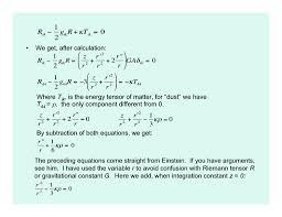 einstein s field equation