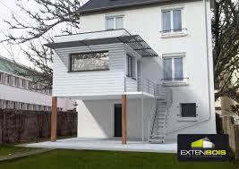 Extension En Bois Sur Sur Pilotis D Une Maison Dans Le Finist Re