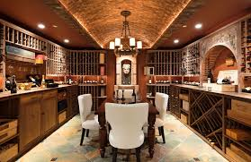 basement wine cellar ideas. Brilliant Basement Thereu0027s Also A Huge Wine Cellar In The Mansion That Feature Bar Counters  And Table To Basement Wine Cellar Ideas