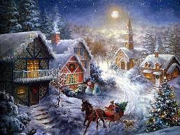 Урок конспект по теме Зимние праздники  Посмотрите на картину