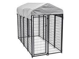 8 x4 x6 outdoor heavy duty playpen dog kennel w roof water