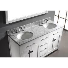 bathroom vanity 60 inch: virtu usa caroline  in w x  in h vanity with marble vanity middot  inch double sink bathroom